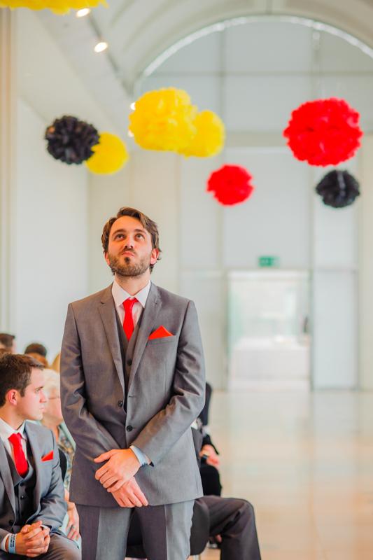 Millennium Gallery wedding Sheffield